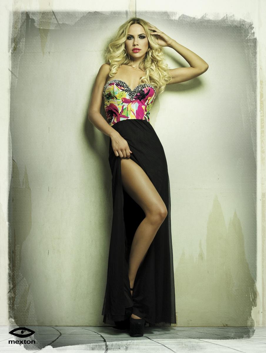 Rochie Mexton Glamorous Black
